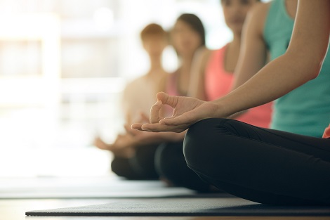 People-Taking A Yoga Class At Kaya Health Clubs In Melbourne
