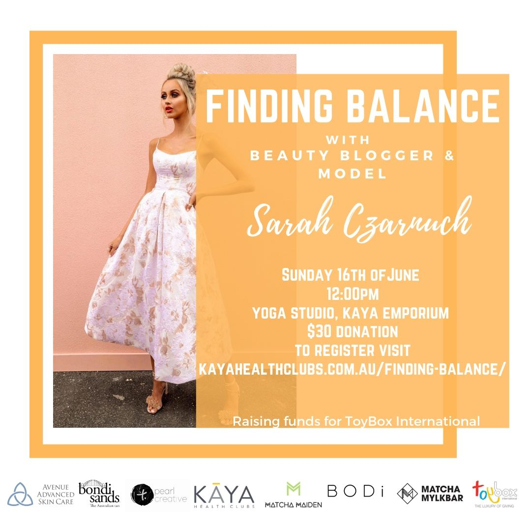 Finding Balance Charity Event