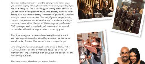 , August September Newsletter