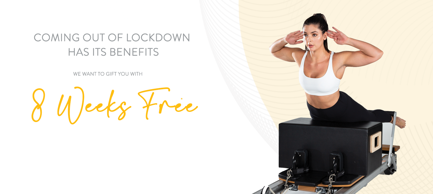 Home Page Banner – Pilates 8 Week Offer